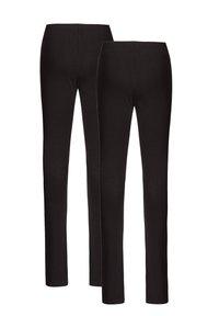 WE Fashion - 2 PACK - Leggings - black - 1
