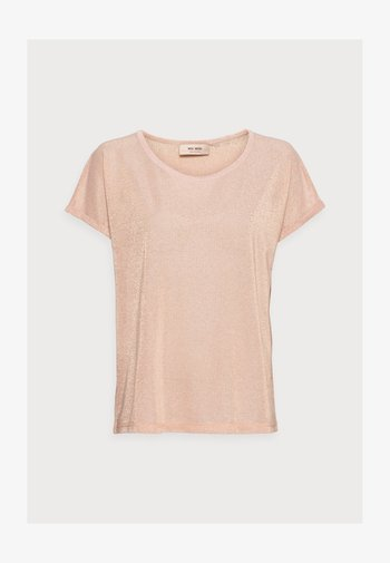 KAY TEE - Print T-shirt - peachskin
