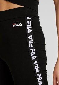 Fila - PHILINE - Legginsy - black - 4