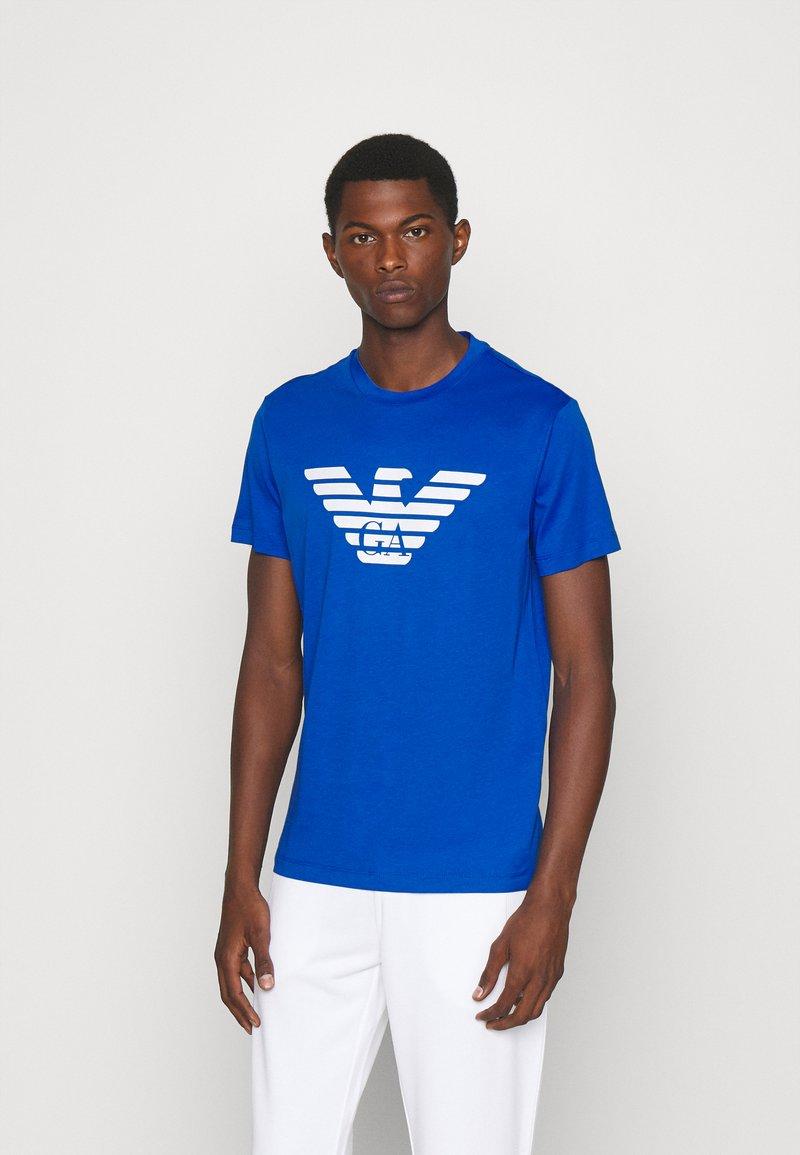 Emporio Armani - Print T-shirt - notte