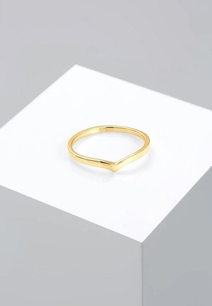 BASIC V-FORM - Ring - gold-coloured