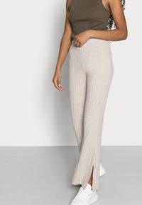 Gina Tricot Petite - TARA TROUSERS - Trousers - beige - 3