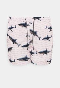 Jack & Jones - JJIBALI JJSWIM SEA ANIMAL - Plavky - pink dogwood - 3