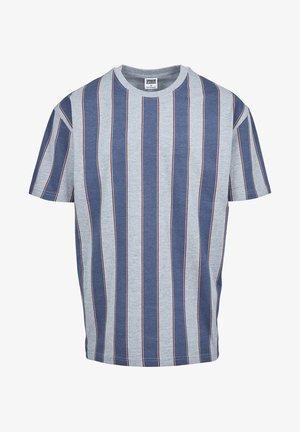 T-shirt con stampa - vintageblue