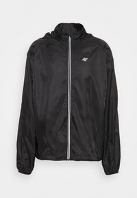 4F - Men's running jacket - Sports jacket - black - 0
