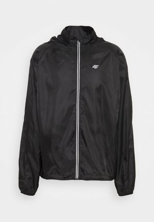 Men's running jacket - Hardloopjack - black