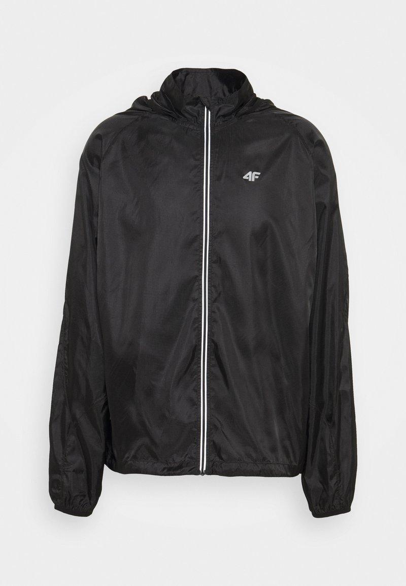 4F - Men's running jacket - Sports jacket - black