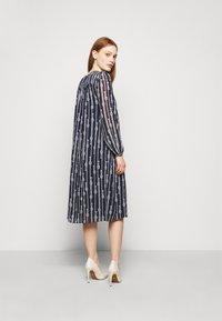 MICHAEL Michael Kors - SAPCED SAILOR STRIPE - Day dress - midnight blue/white - 2