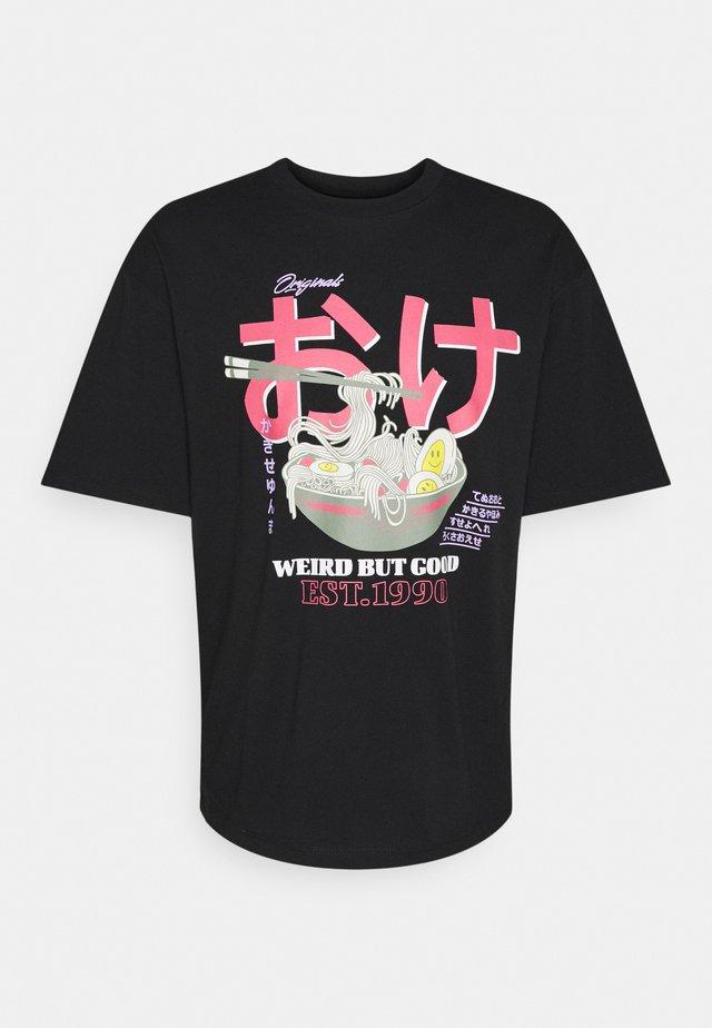 JORPAUL TEE CREW NECK - T-shirt imprimé - tap shoe