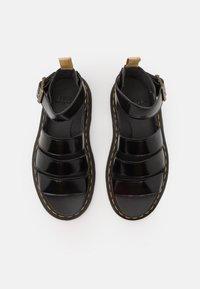 Dr. Martens - VEGAN CLARISSA  - Sandály na platformě - black oxford - 5