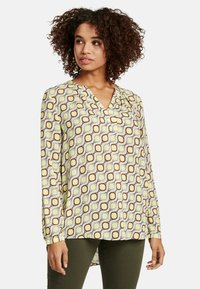 Cartoon - MIT MUSTER - Blouse - taupe/yellow - 0