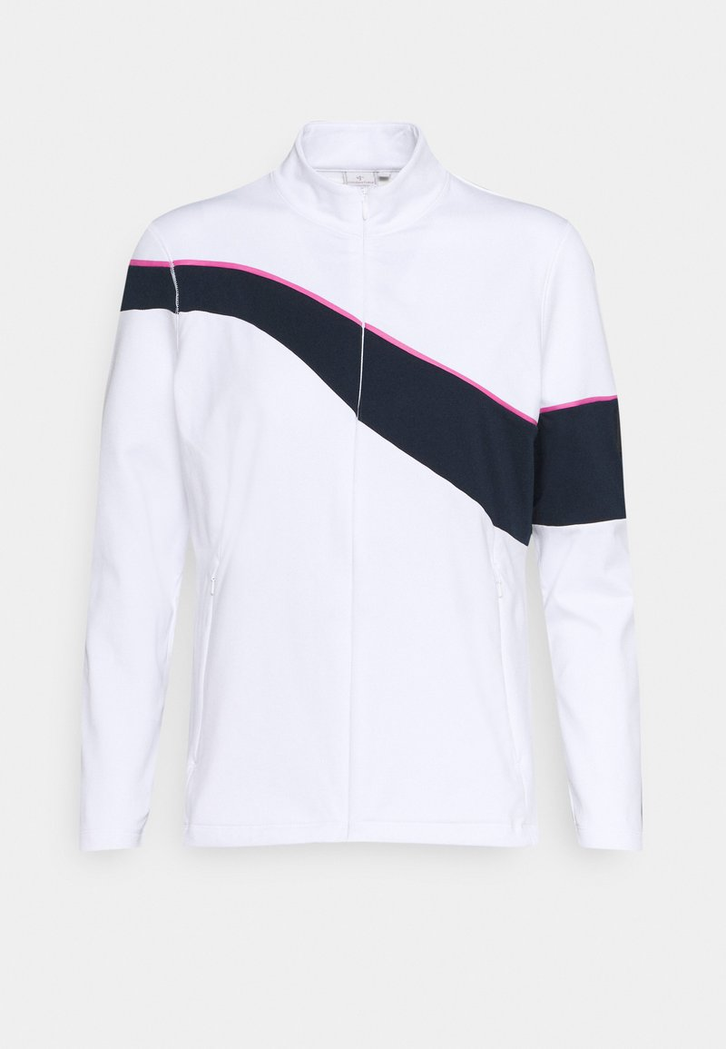 Cross Sportswear - WAVE FULL ZIP - Mikina na zip - white