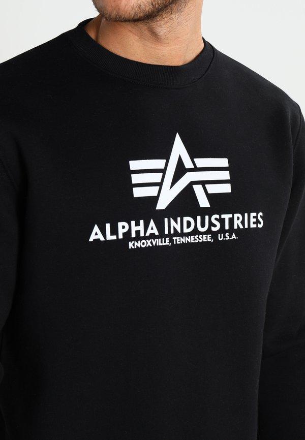 Alpha Industries BASIC - Bluza - black/czarny Odzież Męska KEEJ