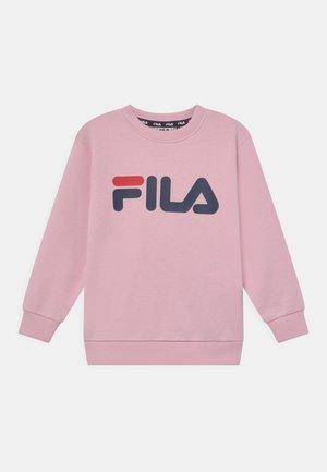 TIM LOGO CREW UNISEX - Sweatshirts - pink mist