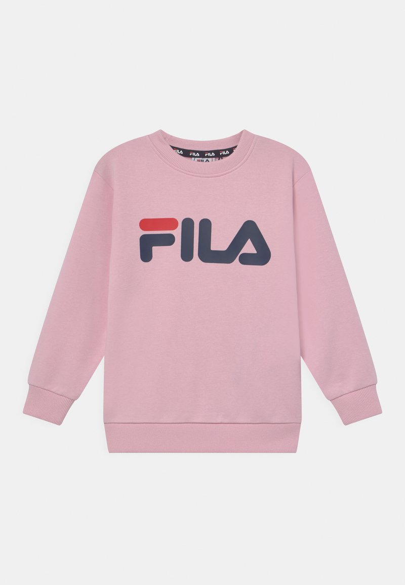 Fila - TIM LOGO CREW UNISEX - Sweatshirt - pink mist