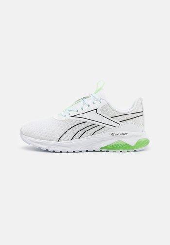 LIQUIFECT 180 2.0 - Zapatillas de running neutras - footwear white/core black/neon mint