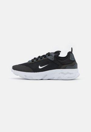 REACT LIVE UNISEX - Sneakers laag - black/white/dark smoke grey