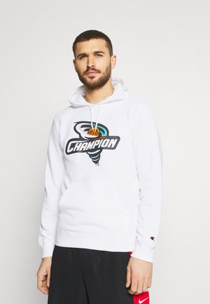 HOODED  - Sweatshirt - white