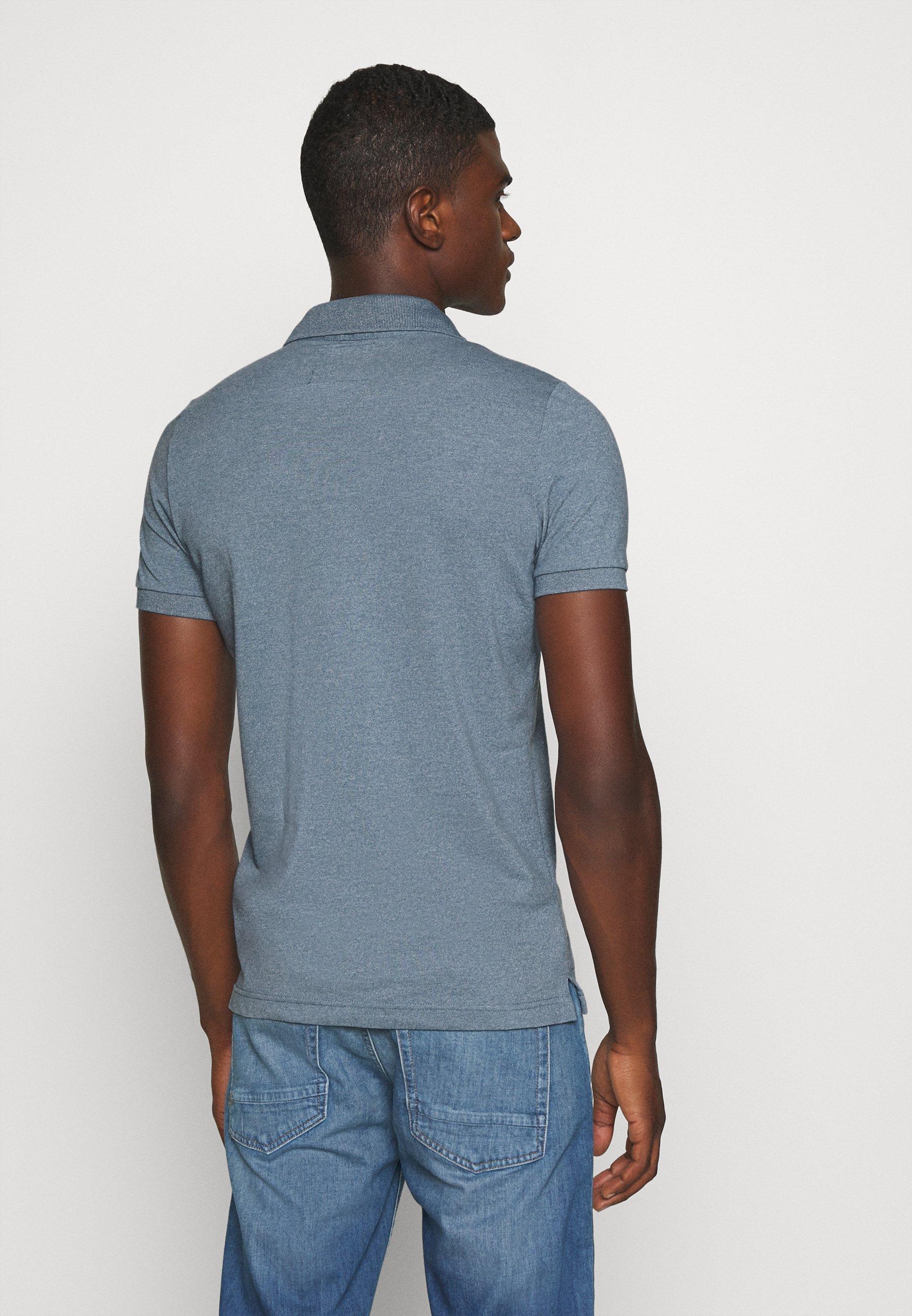 Hollister Co. Polo shirt - blue Onza6