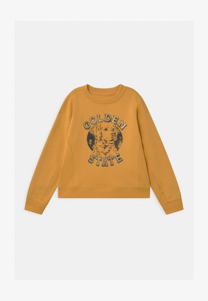 GIRLS CREW - Sweatshirt - bright gold