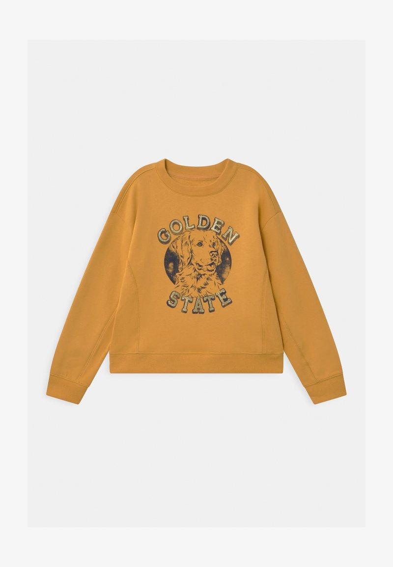 GAP - GIRLS CREW - Sweater - bright gold