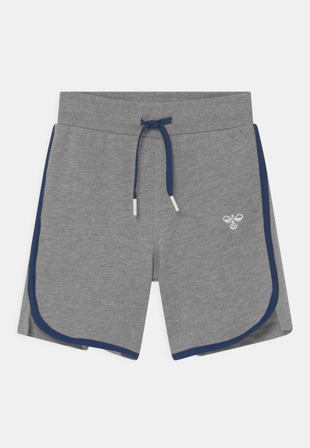 BREAKER UNISEX - Pantaloncini sportivi - grey melange