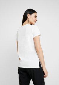 G-Star - GRAPHIC LOGO - T-shirts print - milk - 2