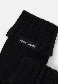 Urban Classics - GLOVES UNISEX - Gloves - black - 2