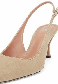 BOSS - Slingback ballet pumps - beige - 4