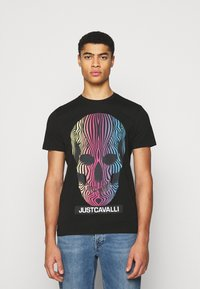 Just Cavalli - Print T-shirt - black - 0