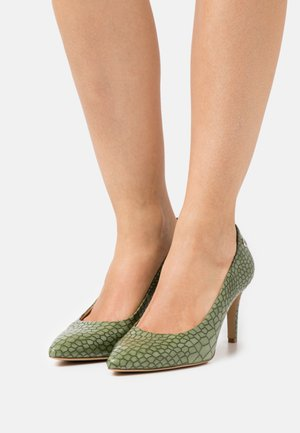 Classic heels - green