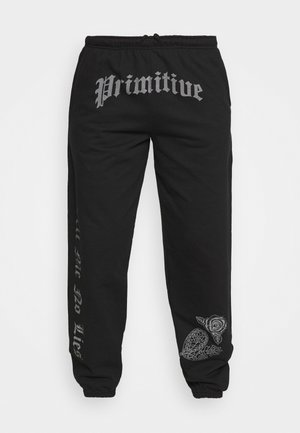 NO LIES - Tracksuit bottoms - black