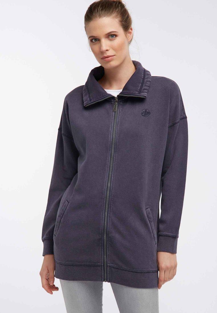 DreiMaster - Zip-up hoodie - navy