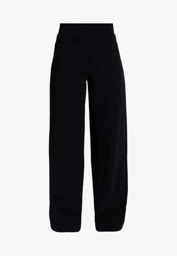 JENNA WIDE LEG TROUSERS - Trousers - black