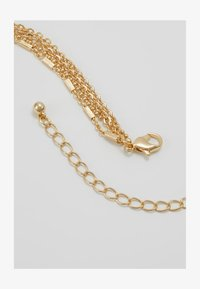 Miss Selfridge - EGYPTION COIN DOUBLE ROW NECKLACE - Collier - gold-coloured - 2