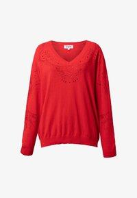 Desigual - JERS_GANTE - Pullover - red - 4