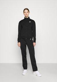 Nike Sportswear - SUIT - Tracksuit - black/white - 0