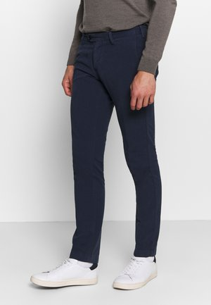 SLIM STRUCTURE  - Chinos - marine