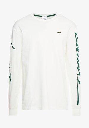 Bluzka z długim rękawem - flour/green