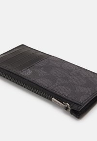 Coach - ZIP CARD CASE IN SIGNATURE - Wallet - charcoal - 3