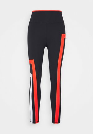 NEW HEIGHTS LEGGING - Legging - black/red