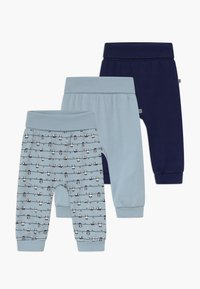 Jacky Baby - PANDA LOVE 3 PACK - Broek - blue - 0