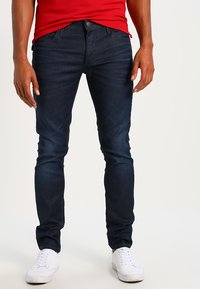Jack & Jones - TIM CLASSIC  - Jeans slim fit - medium blue denim - 0