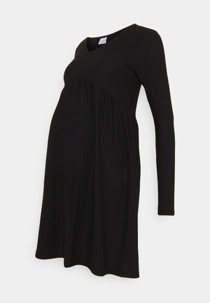 MLCILLE DRESS SOLID - Day dress - black