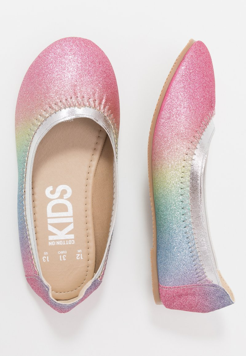 Cotton On - KIDS PRIMO - Ballet pumps - rainbow glitter