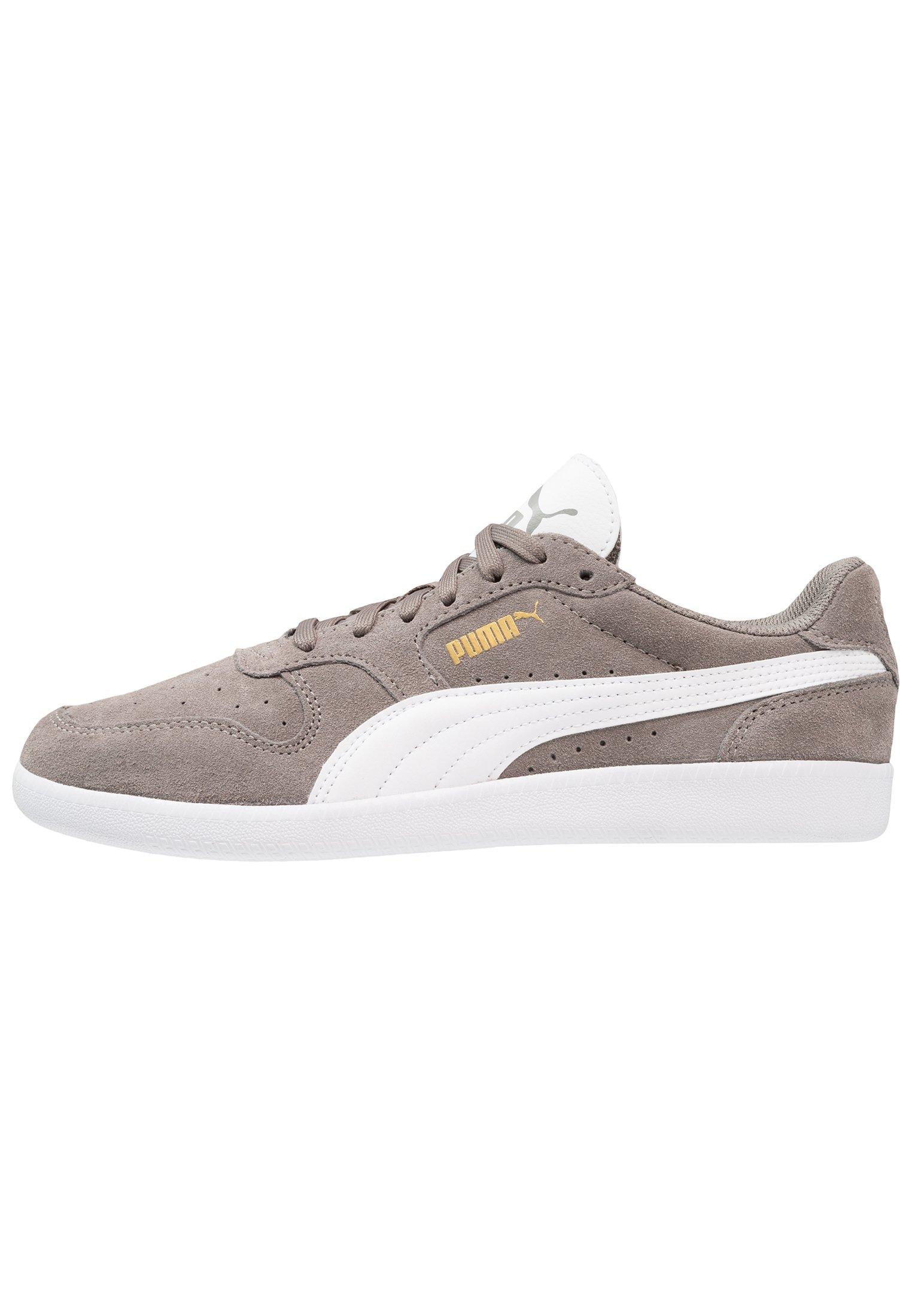 Puma ICRA TRAINER SD - Trainers - steel gray/white/grey - Zalando ...