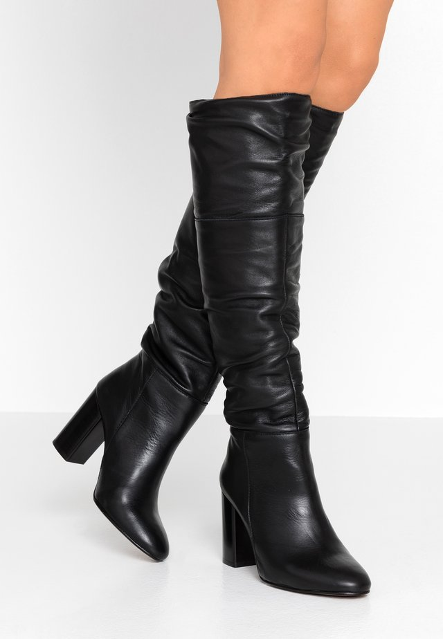 Stivali con i tacchi - black