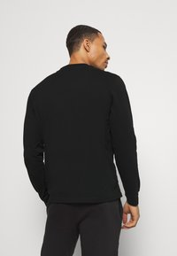 Champion - LEGACY TAPE LONG SLEEVE - Long sleeved top - black - 2