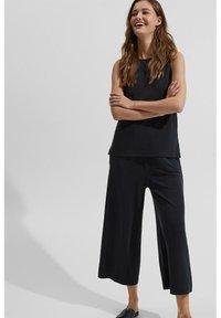 Esprit - CULOTTE - Trousers - black - 5