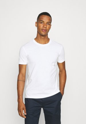 OFF PLACED ICONIC TEE UNISEX - Printtipaita - white